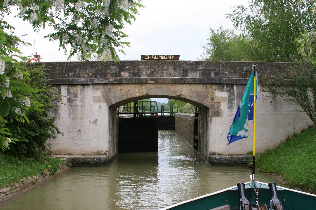 Schleusenbrücke von Chaumigny