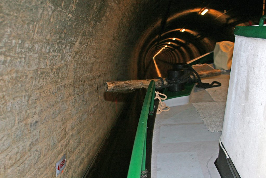 «Spurhalter» im Tunnel
