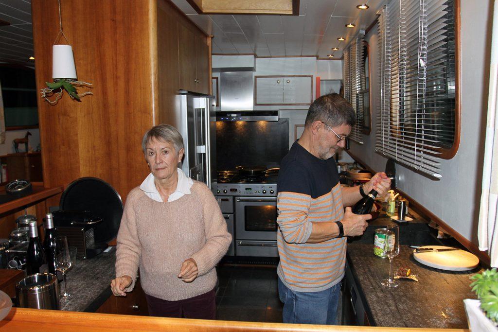Unsere Gastgeber Bente und Kurt