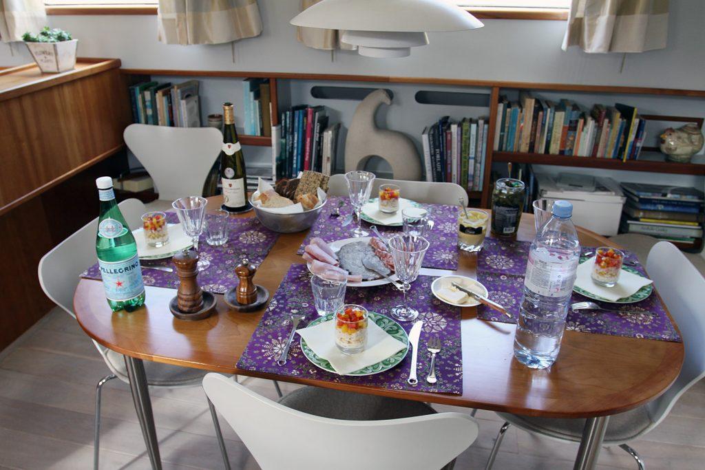 Merke: Bei dänischen Gastgebern musst Du nie verhungern!