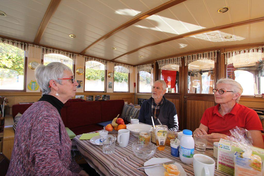 Bei Madeleine und Joseph Niederberger an Bord der «Wietske»