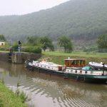 Schleuse im Canal des Ardennes (Ardennenkanal)