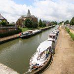 Im Hafen von Le Chesne (Canal des Ardennes)