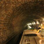 Im Souterrain (Tunnel) von Mont-de-Billy (Canal de l'Aisne à la Marne)