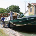 Schleuse im Canal latéral à la Marne
