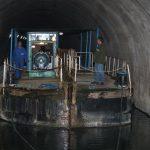 Das Schleppfahrzeug im Souterrain (Tunnel) de Mauvages