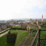 Blick auf Sedan von den Zinnen der Festung aus
