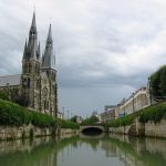 Stiftskirche Notre-Dame-en-Vaux in Châlons-en-Champagne (Canal latéral à la Marne)