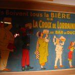 Im «Musée européen de la Bière» von Stenay (Lothringen)