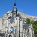 Kathedrale und Festung von Dinant (belgische Maas)