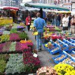 «La Batte» – der riesige Sonntagsmarkt in Lüttich/Liège/Luik (Belgien)