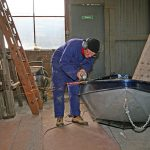 Renovation des Beibootes