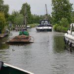Der Gärtner ist auch unterwegs auf der Hollandse Ijssel