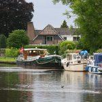 Liegeplatz Oudewater an der Hollandse Ijssel