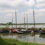 Der historische Hafen von Woudrichem