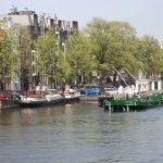 Liegeplatz beim Muntplein mitten in Amsterdam