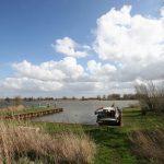 Mit M.S. Shell V im Naturschutzgebiet des Biesbosch