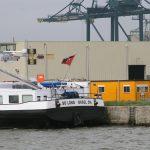 Heimatduft im Hafen von Antwerpen