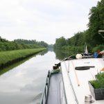 Mutterseelenallein im Canal de St. Quentin