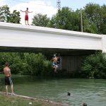 Sommerfreuden der Dorfjugend (Canal de l'Aisne à la Marne)
