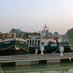 Im Hafen von Sillery am Canal de l'Aisne à la Marne