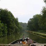 Einmal mehr völlig allein (Canal de la Marne à la Saône)