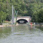 Vor Chaumont am Canal de la Marne à la Saône