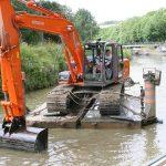 Die Kanäle müss(t)en regelmässig ausgebaggert werden