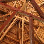 Dachstuhl eines Wehrturms (Langres)