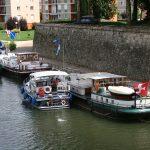 Das Burgundertreffen des SSK, hier am Quai von Auxonne