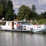 Der Rumpf dürfte von einem holländischen Kehrichtboot stammen