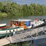 An der Saône in SeurreAn der Saône in Seurre
