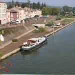 Tournus an der Saône