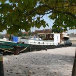 Am Quai von St-Léger-sur-Dheune (Canal du Centre)