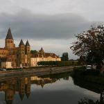 Paray-le-Monial am Canal du Centre