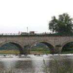 Kanalbrücke über die Loire bei Digoin
