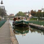 Noch einmal über die Kanalbrücke über die Loire bei Digoin