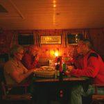 Weihnachtsabend an Bord von M.S. Kinette mit Dicky und Ton Wilhelm