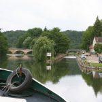 Canal du Nivernais bei Saussois