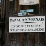 Die letzte Schleuse vor Auxerre