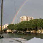 Bassin de Villette in Paris (19. Arr.)