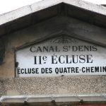 Schleuse am Canal Saint-Denis (Paris)