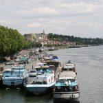 Conflans-Sainte-Honorine an der unteren Seine