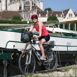 Unsere Tochter Annette in Auxerre