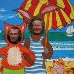 Viktor Dammann und Christian Huber in Meaux sur Marne