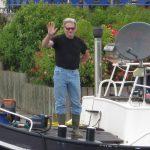 Eric Berg, Skipper der M.S. Oldtimer