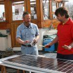 Kinette erhält Solarzellen