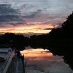 Abendstimmung bei Le Guétin (Canal latéral à la Loire)