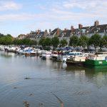 Der Yachthafen in Briare