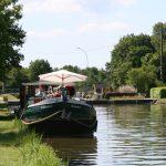 Sommer auf dem höchsten Punkt des Canal de Briare